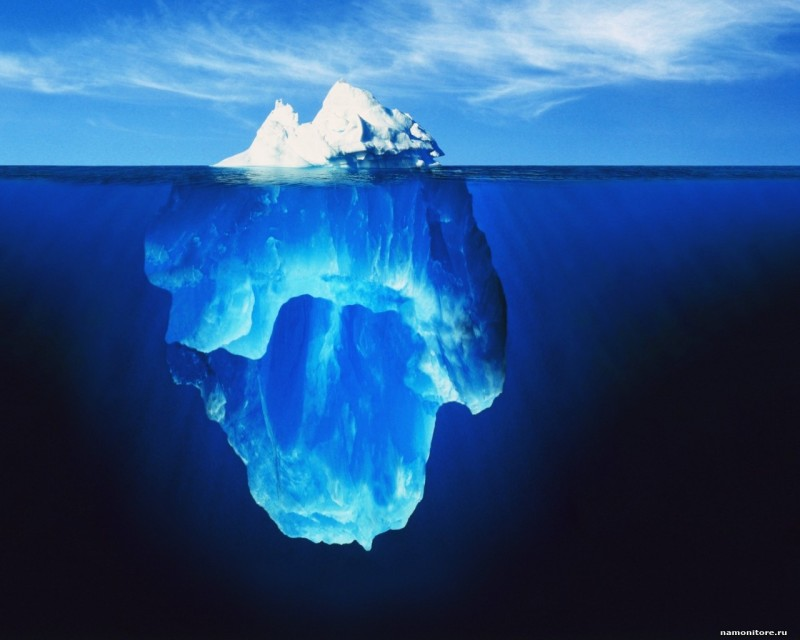 WOE: Under the Iceberg